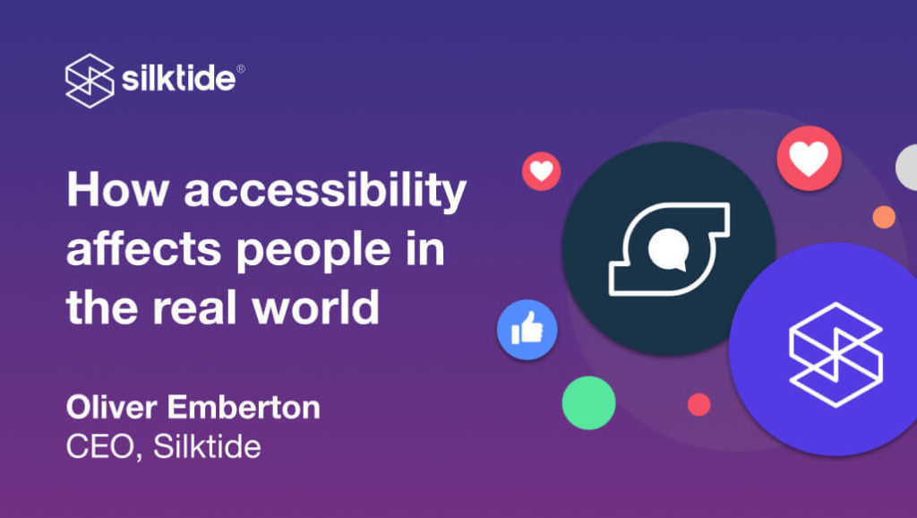 How accessibility affects people in the real world